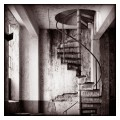 Paper Mill - Circular Staircase. Sweden.