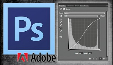 Adobe Photoshop CS6 and curves adjustment - private lessons