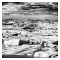 Jokulsarlon Icebergs, Vatnajokull Glacier