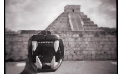 Eddie Wexler. Chichen Itza, Mexico. Diana.